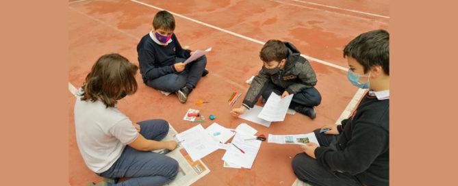 Los alumnos y alumnas de 5º de primaria del Colegio Rafaela María trabajan los ecosistemas del planeta.