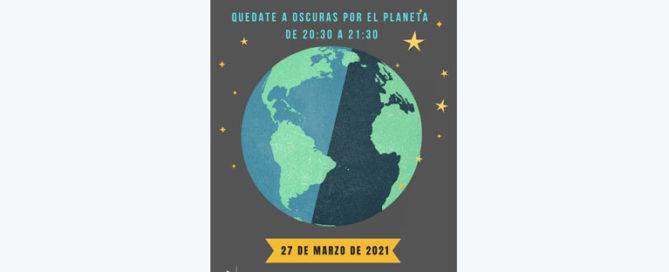 La Hora del Planeta con la AMPA del Colegio Concertado Rafaela María del centro de Valladolid