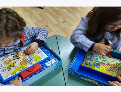 Nuevos ambientes de aprendizaje en 2º de infantil