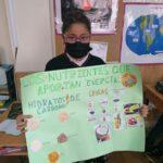 Los alumnos y alumnas de tercero de primaria del Colegio Rafaela María trabajan la adecuada alimentacion.
