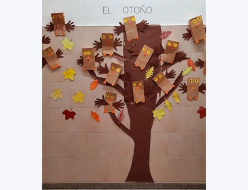 El otoño también ha llegado a 3º de infantil